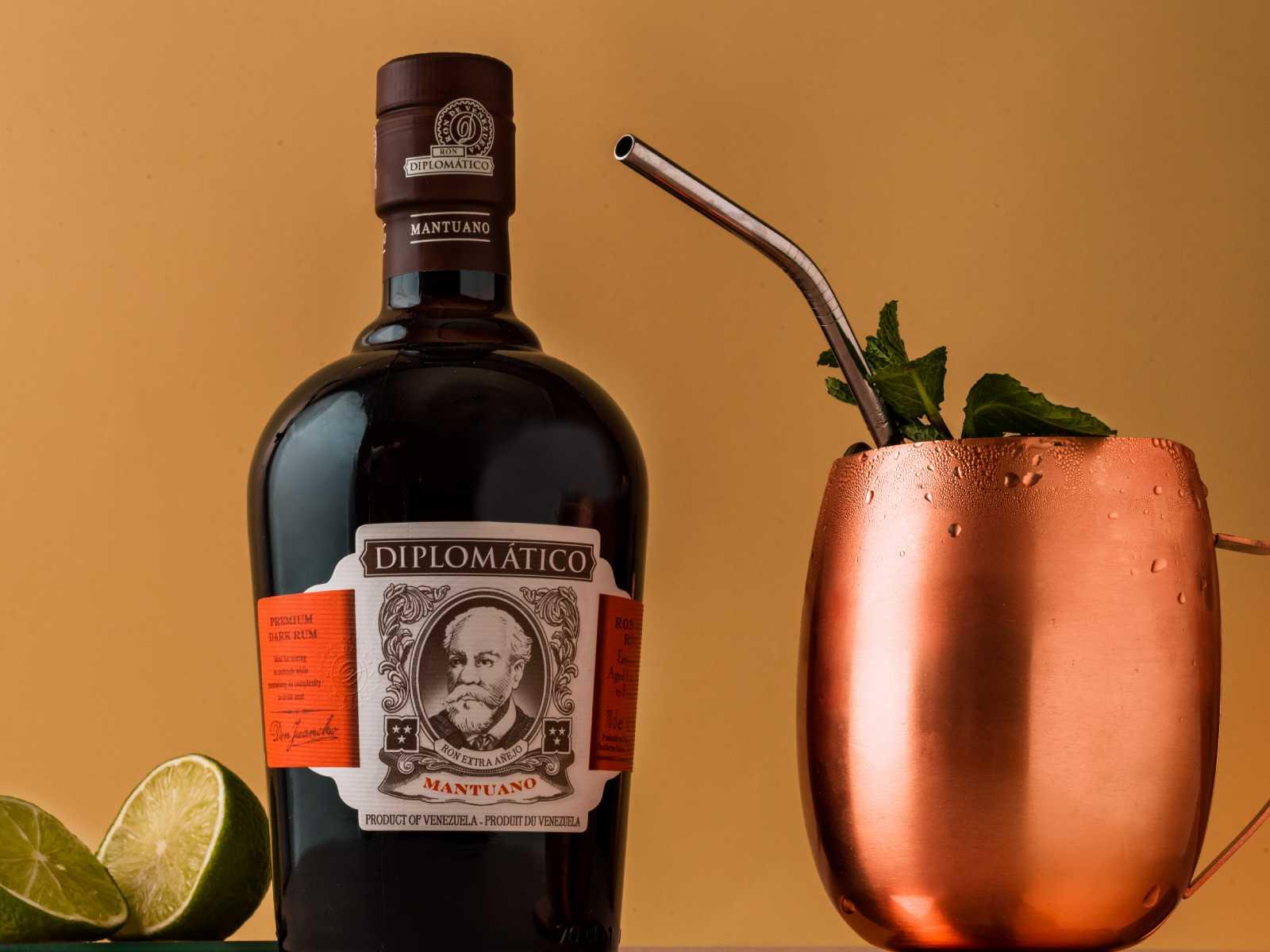Rum Mule Diplomatico Mantuano