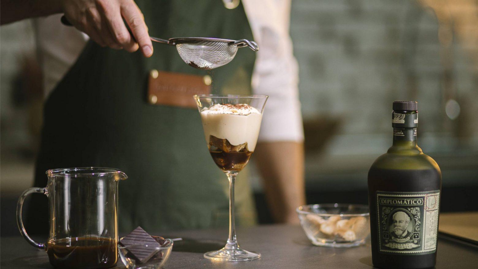 DRE & Tiramisu - Diplomatico Rum