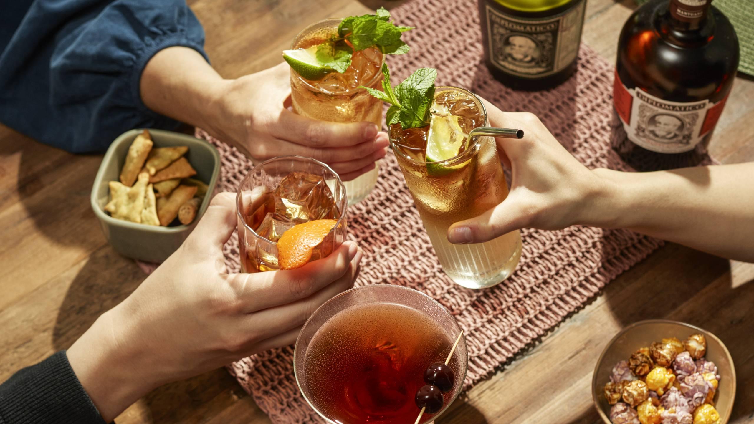 Best Rum Cocktails Diplomatico Rum
